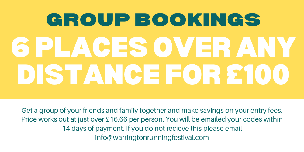 Warrington Group Booking